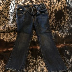 Boys boot cut old navy jeans